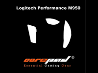 Corepad Skatez Pro for Logitech Performance MX-M950