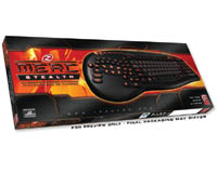 Merc Stealth Illuminated Gaming Keyboard