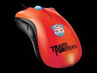 Transformers 3 Razer DeathAdder Optimus Prime
